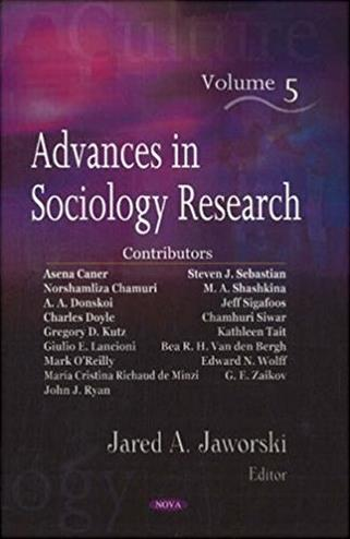 Advances in Sociology Research, Volume 5