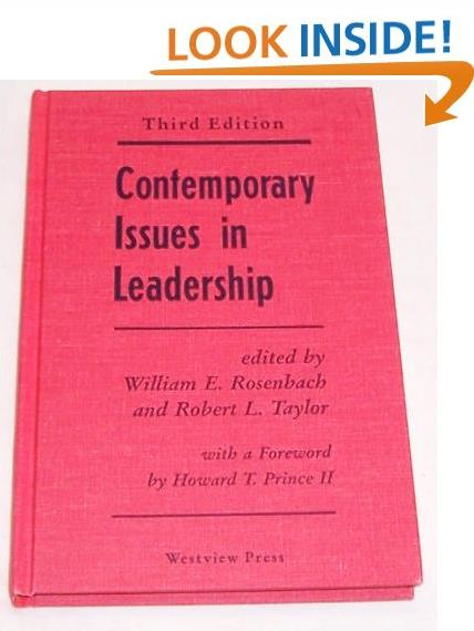 Contemporary Issues In Leadership: Third Edition