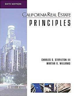 California Real Estate Principles