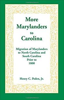 More Marylanders to Carolina: : Migration of Marylanders to North Carolina  ...