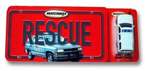 Rescue (with Chevy Tahoe police truck)