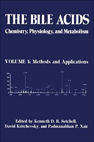 004: The Bile Acids: Chemistry, Physiology, and Metabolism: Volume 4: Metho ...