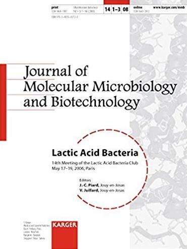 Lactic Acid Bacteria: 14th Meeting of the Lactic Acid Bacteria Club, Paris, ...