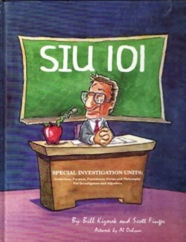Siu 101: Special Investigation Units : Guidelines, Formats, Procedures, For ...