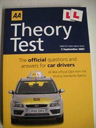 AA Theory Test for Car Drivers